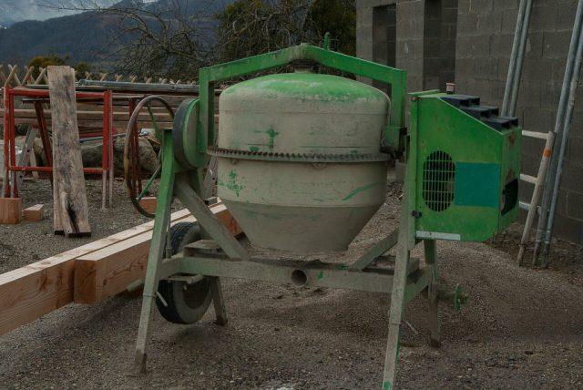 jak długo schnie beton?